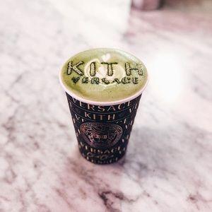 Kith X Versace X cha cha matcha paper cup